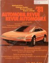 1981 AUTOMOBIL REVUE YEARBOOK GERMAN FRENCH
