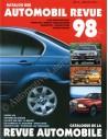 1998 AUTOMOBIL REVUE JAARBOEK DUITS FRANS