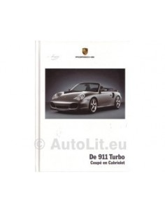 2004 PORSCHE 911 TURBO HARDCOVER BROCHURE DUTCH