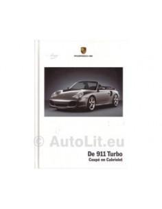2004 PORSCHE 911 TURBO HARDCOVER PROSPEKT NIEDERLÄNDISCH