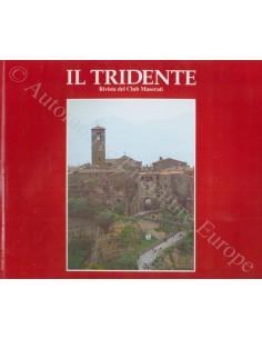 1991 RIVISTA DEL CLUB MASERATI IL TRIDENTE MAGAZINE NO 2