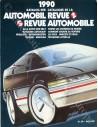 1990 AUTOMOBIL REVUE JAHRESKATALOG DEUTSCH FRANZÖSISCH