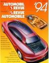 1994 AUTOMOBIL REVUE JAHRESKATALOG DEUTSCH FRANZÖSISCH