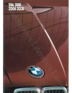 1982 BMW 3 SERIE BROCHURE DUTCH