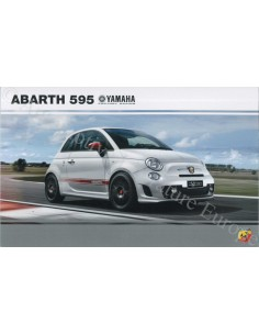 2015 ABARTH 595 YAMAHA FACTORY RACING BROCHURE GERMAN