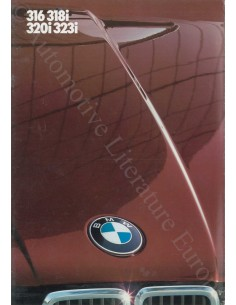 1984 BMW 3 SERIE BROCHURE DUITS