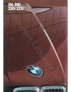 1984 BMW 3 SERIE BROCHURE GERMAN