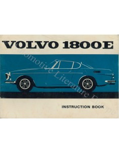 1970 VOLVO 1800E OWNERS MANUAL HANDBOOK ENGLISH