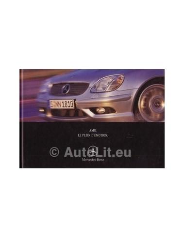 Mercedes Benz AMG Hardcover Brochure 2001 Frans