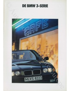 1991 BMW 3 SERIE BROCHURE DUTCH