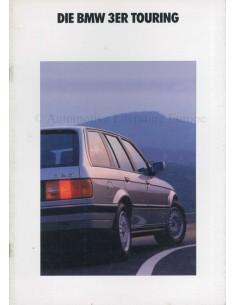 1990 BMW 3 SERIES TOURING BROCHURE GERMAN