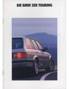 1990 BMW 3ER TOURING PROSPEKT DEUTSCH