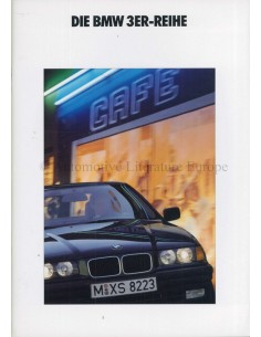 1992 BMW 3 SERIES BROCHURE GERMAN