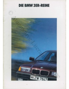 1990 BMW 3 SERIES BROCHURE GERMAN