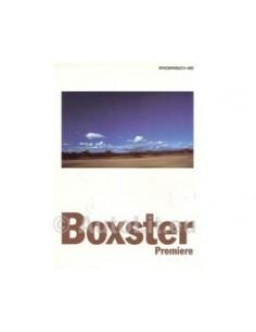 1995 PORSCHE BOXSTER BROCHURE GERMAN