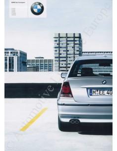 2003 BMW 3ER COMPACT PROSPEKT NIEDERLÄNDISCH