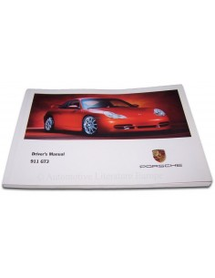 2000 PORSCHE 911 GT3 OWNERS MANUAL ENGLISH