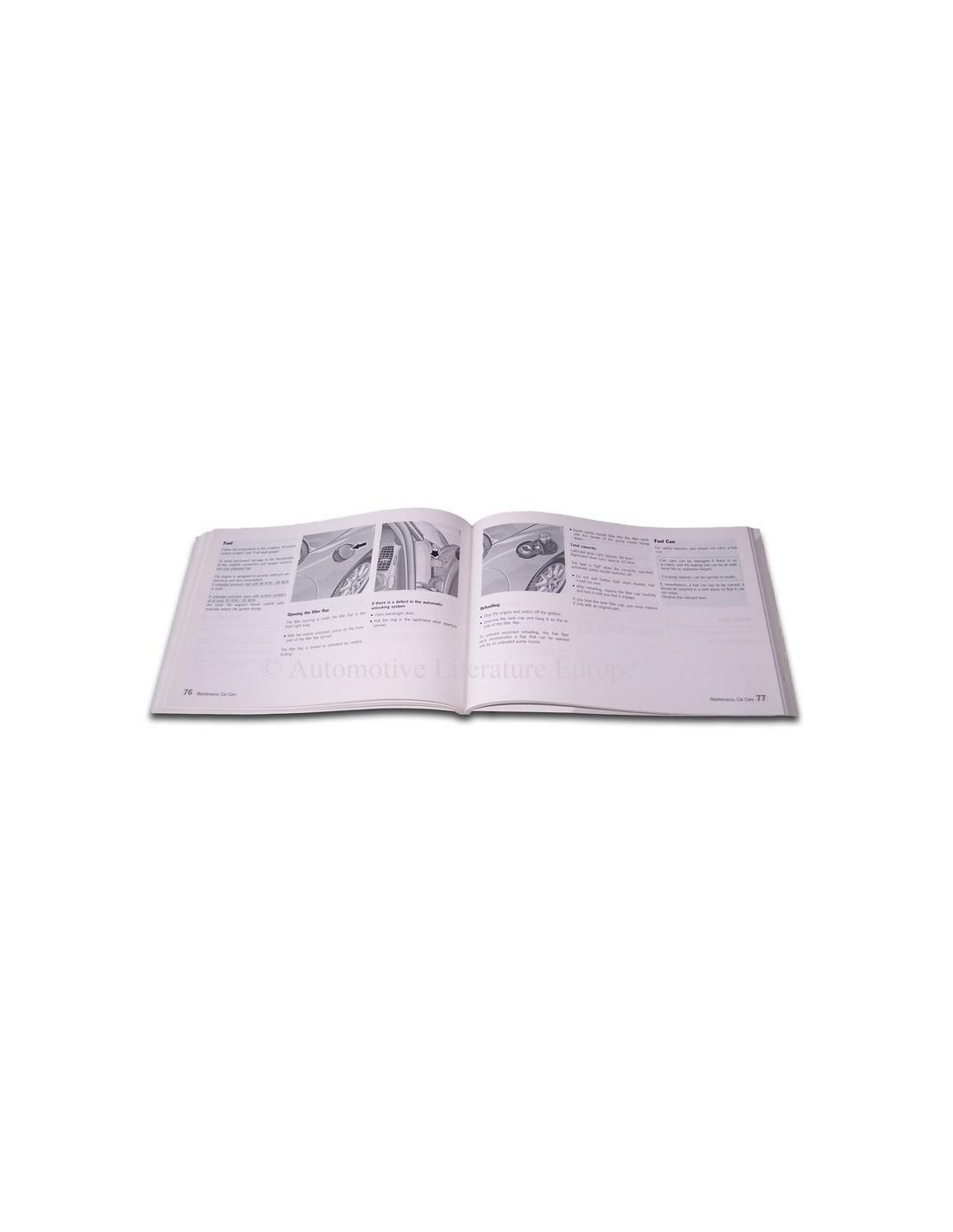 2000 porsche 911 gt3 owners manual english rh autolit eu 2000 porsche 911 owners manual pdf 2000 porsche 911 repair manual