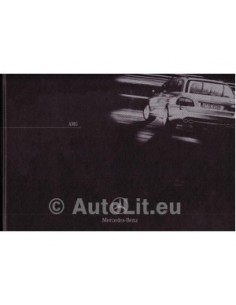 Mercedes Benz AMG Hardcover Brochure 2003 Duits