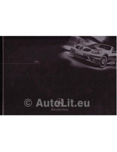Mercedes Benz AMG Hardcover Brochure 2004 Frans