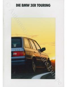 1991 BMW 3 SERIES TOURING BROCHURE GERMAN