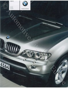 2003 BMW X5 PROSPEKT DEUTSCH