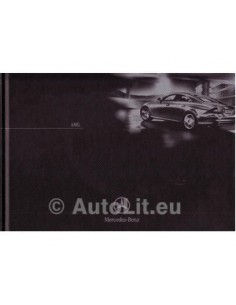 Mercedes Benz AMG Hardcover Brochure 2003 Germany