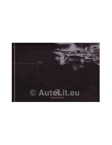 Mercedes Benz AMG Hardcover Brochure 2005 Duits