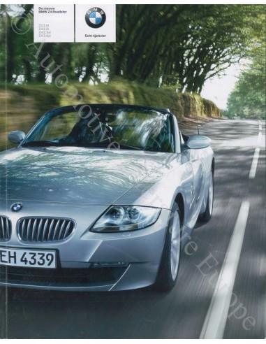 2005 BMW Z4 ROADSTER BROCHURE NEDERLANDS