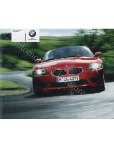 2005 BMW Z4 M ROADSTER BROCHURE ENGELS
