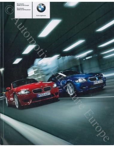 2006 BMW Z4 M ROADSTER COUPÉ BROCHURE DUTCH