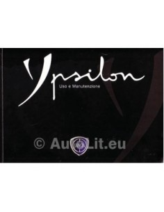 2007 LANCiA YPSILON OWNERS MANUAL ITALIAN