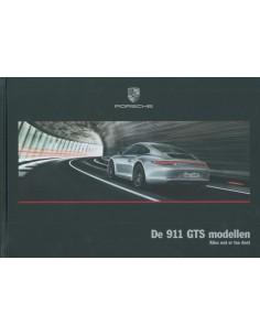 2016 PORSCHE 911 TARGA 4 GTS HARDCOVER BROCHURE NEDERLANDS