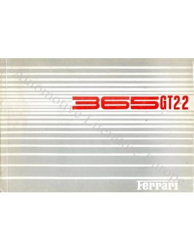 1969 FERRARI 365GT 2+2 ONDERDELENHANDBOEK 35/69