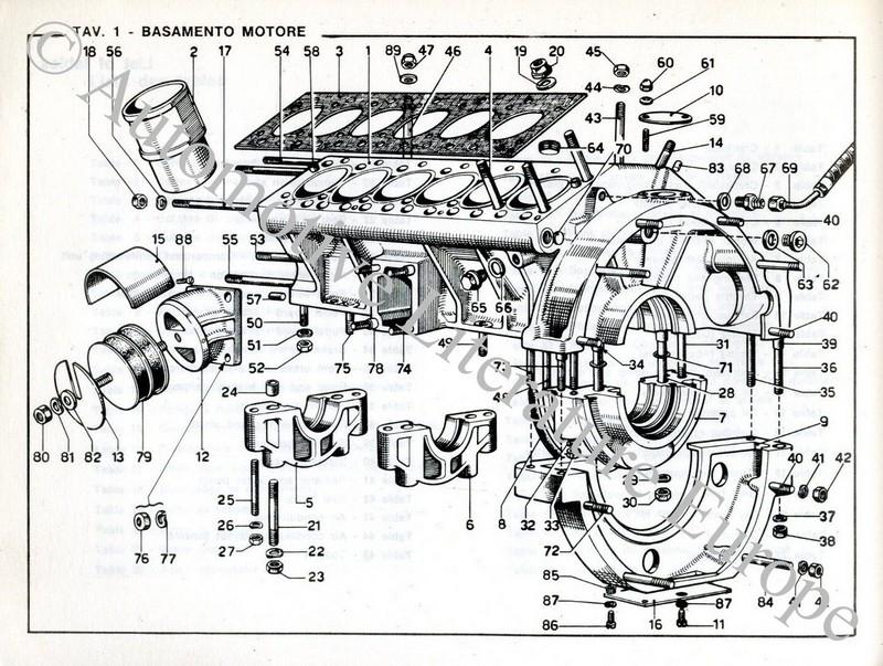Ferrari Parts Diagram