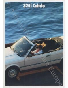 1987 3 SERIE SEDAN BROCHURE NEDERLANDS