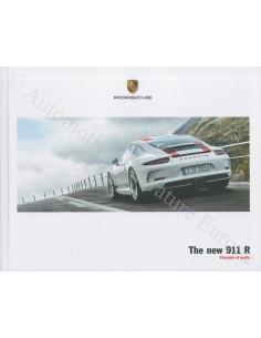 2017 PORSCHE 911 R HARDCOVER BROCHURE ENGLISH