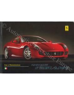 2006 FERRARI 599 GTB FIORANO OWNER'S MANUAL ITALIAN