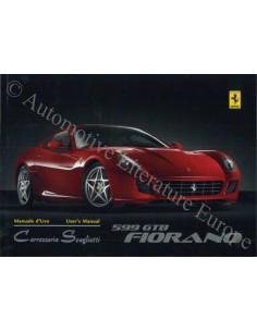 2008 FERRARI 599 GTB FIORANO INSTRUCTIEBOEKJE ENGELS 3174/08