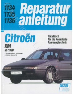 1990 - 1995 CITROEN XM REPARATURANLEITUNG DEUTSCH