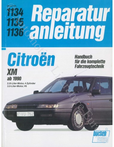 1990 - 1995 CITROEN XM VRAAGBAAK DUITS