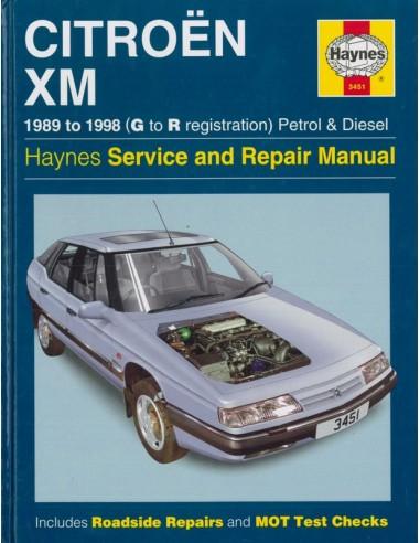 1989 1998 citroen xm repair manual english rh autolit eu Citroen CX Citroen BX