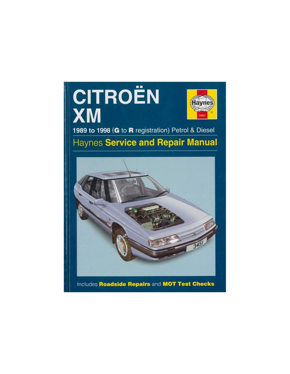 1989 1998 citroen xm repair manual english rh autolit eu Citroen BX Citroen SM