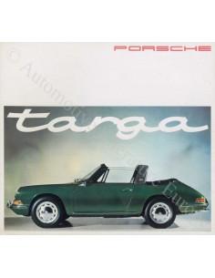 1965 PORSCHE 911 & 912 TARGA PROSPEKT DEUTSCH / ENGLISCH / FRANZÖSISCH