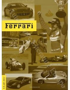 2011 FERRARI MAGAZINE ITALIAANS / ENGELS 15