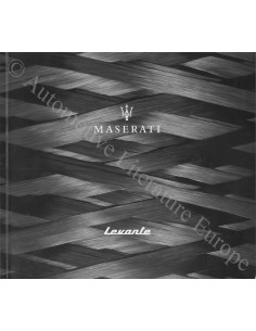 2017 MASERATI LEVANTE BROCHURE ENGLISH