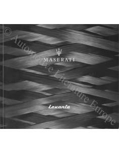2017 MASERATI LEVANTE PROSPEKT ENGLISCH