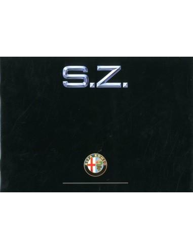 1990 ALFA ROMEO SZ BROCHURE ENGELS