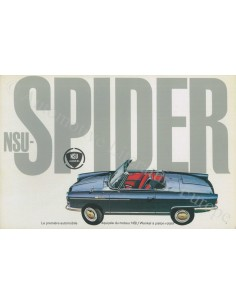 1964 NSU SPIDER BROCHURE FRENCH