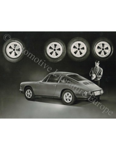 1968 PORSCHE 911 S 2.0 V6 PRESS PHOTO